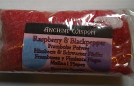 Raspberry & Blackpepper Geurkorrels