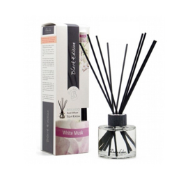 Boles D'olor Reed Diffuser Black Edition Witte Musk