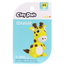 Clay Pals Kleisetje Giraffe