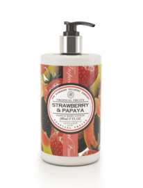 Strawberry & Papaya Hand en Bodylotion Tropical Fruits