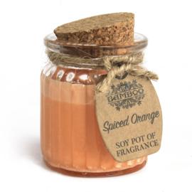 Geurkaars pot Spiced Orange