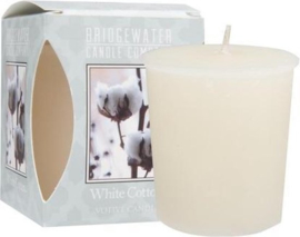 Bridgewater votive White Cotton