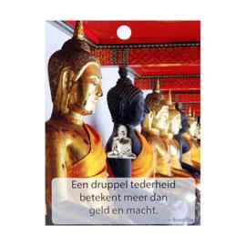 Boeddha Pin Een druppel tederheid....
