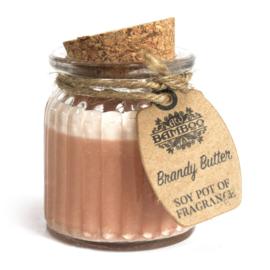 Geurkaars pot Brandy Butter