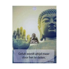 Boeddha Pin Geluk wordt altijd meer....