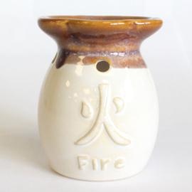 Elements (Fire/Vuur) Oliebrander Beige/bruin