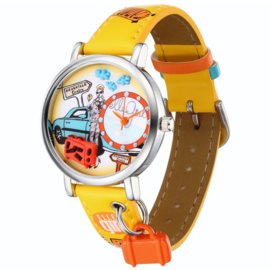Kinderhorloge Lili Likes to Travel by Car Elle Girl