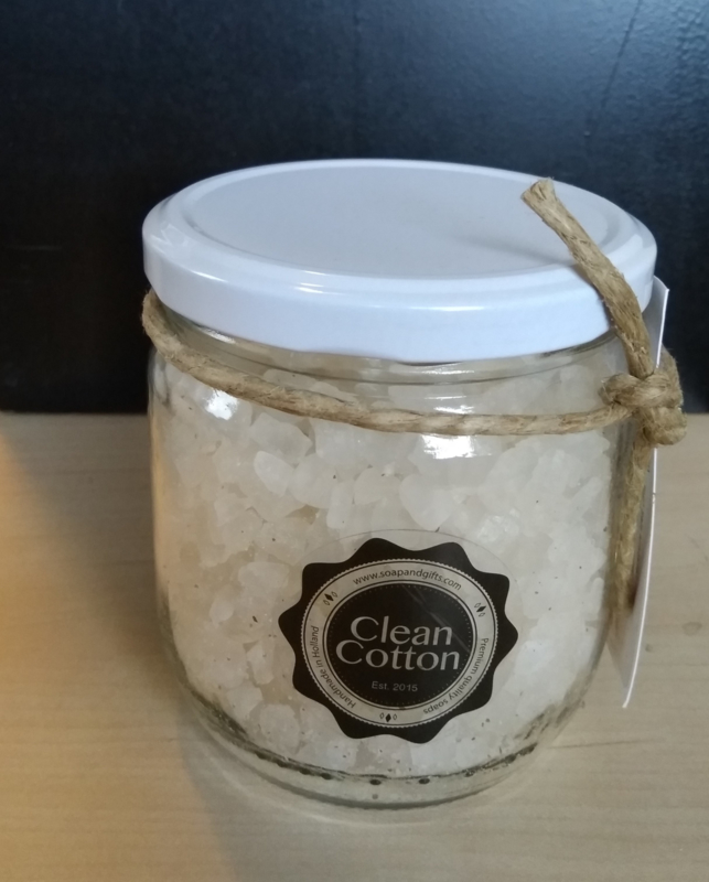 Clean Cotton pot Zout Kristallen