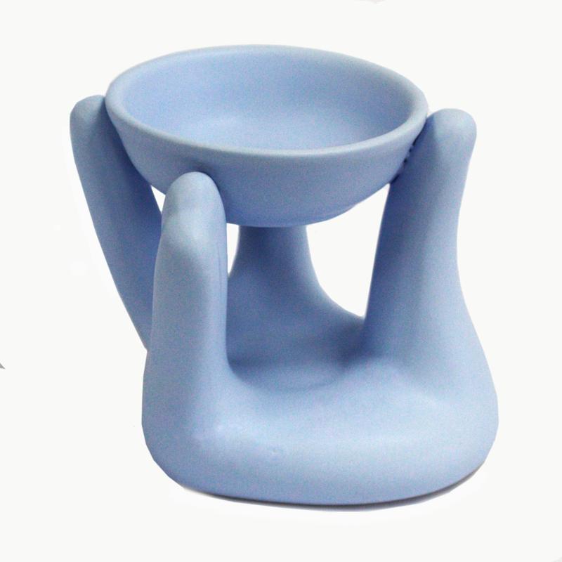 Olie Brander Open Handen Blue