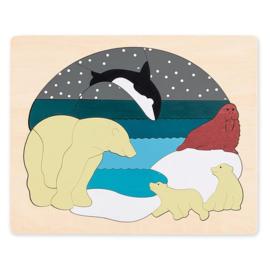 Antarctica dieren puzzel