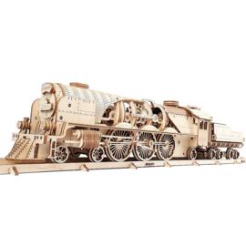 V-Express stoomtrein met tender