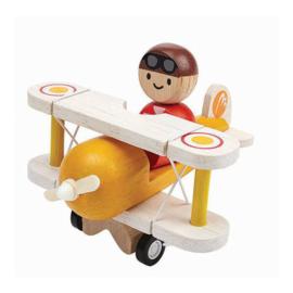 Vliegtuig met piloot