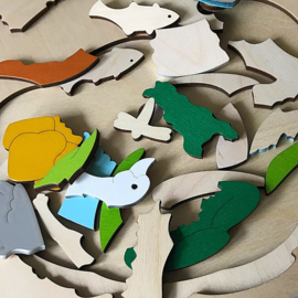 Verborgen diepten puzzel