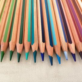 36 Kleurpotloden Graduate aquarel