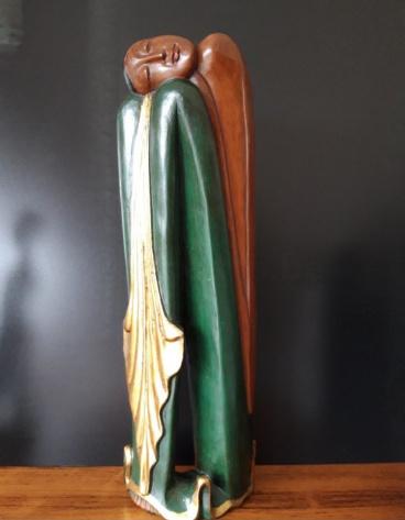 Javaans beeld palmhout