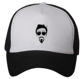 Folreden trucker cap - Black / White