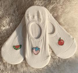 Sokken 'fruta' x COMBISET D