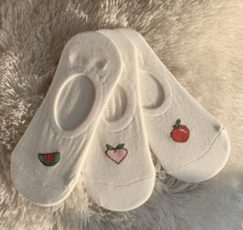Sokken 'fruta' x COMBISET C