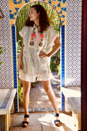 DRESS 'india' x GROEN