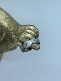 RING 'penelope' x zilver