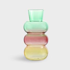 Vase Droplet Green