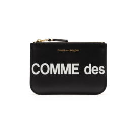CDG Huge Logo Wallet Black