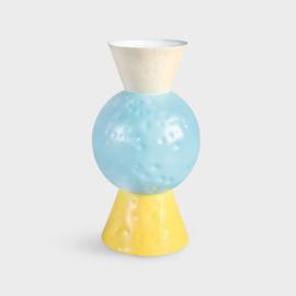 Vase Origami Blue