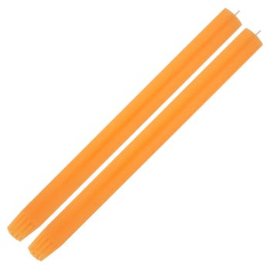 Candle Column Fluo Orange 2 candles