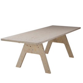 Crisis Table Un-lacquered 240cm