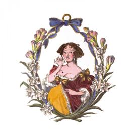 Cire Trudon: Candle Mademoiselle de la Valliere  - 270gr