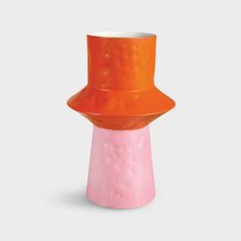 Vase Origami Pink