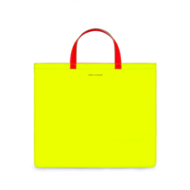 CDG: Super Fluo Tote Bag Yellow/Orange