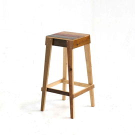 Barstool in Scrapwood Unlacquered
