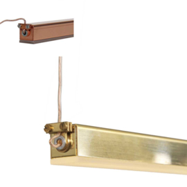 Line Lamp Brass - Copper - Stainless Steel
