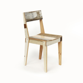 Oak Chair in Scrapwood Unlacquered