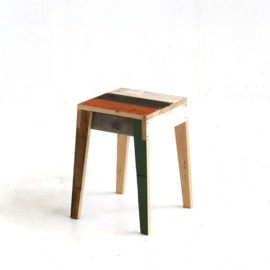 Stool in Scrapwood Unlacquered