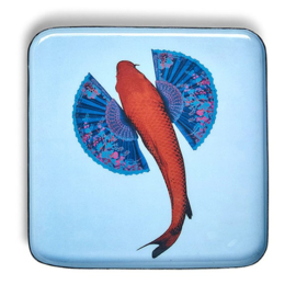 Square Trinket Tray Koifish
