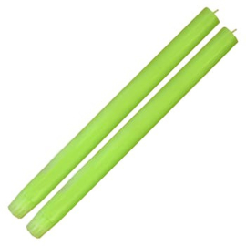 Candle Column Fluo Green 2 candles