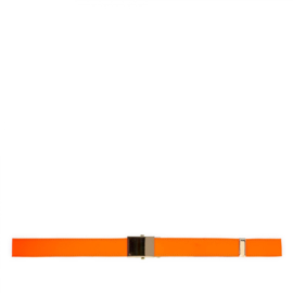 CDG: Super Fluo Belt Orange/Yellow