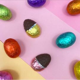 Pin broche - chocolade paasei