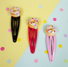 Haarclipjes - donut