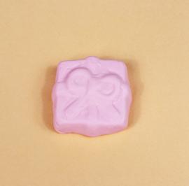 Pin broche - kado schuimpje roze