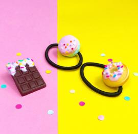 Haarelastiek - donut