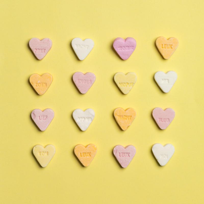 Nieuw Pin broche - snoep hartje roze | Broches | Snuik JX-88
