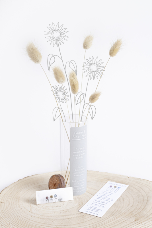Kweek warmte en een beetje liefde... #zonnebloemen