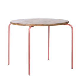Kids Depot Circle speeltafel pink