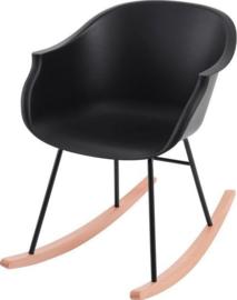 Kids Depot Jazzy schommelstoel zwart