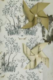Jimmy Cricket Mighetto Garden Barley beige behang