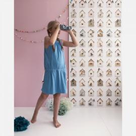 Studio Ditte behang Vogelhuisjes