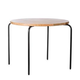 Kids Depot Circle speeltafel black